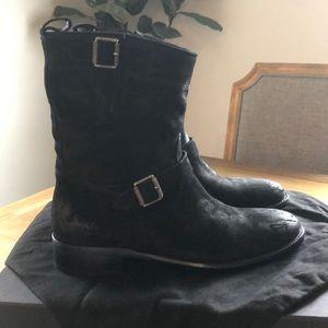 Belstaff New Black Boots size 8 -8 1/2